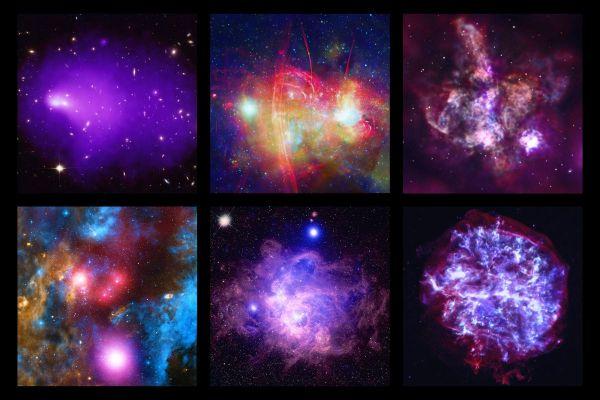 NASA Unveils Amazing Cosmic Views as Chandra X-Ray ...