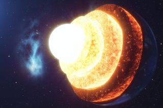 Earth's solid inner core may be growing in a 'lopsided' pattern, new research suggests.