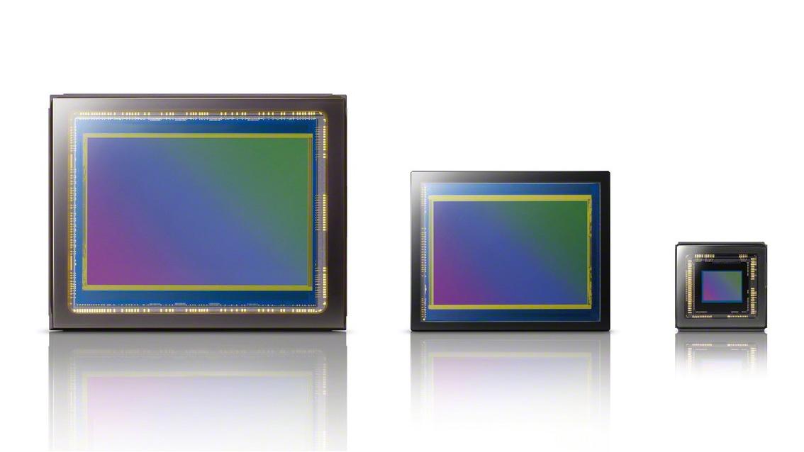 A comparison of different sensor sizes