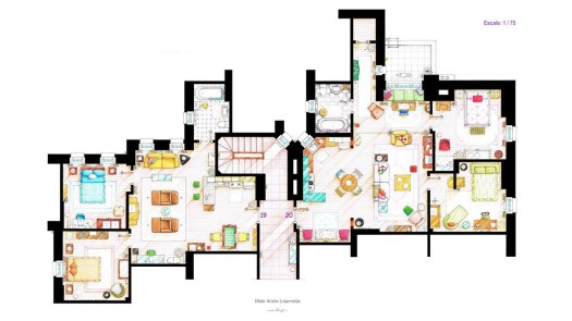 floor plans for TV shows