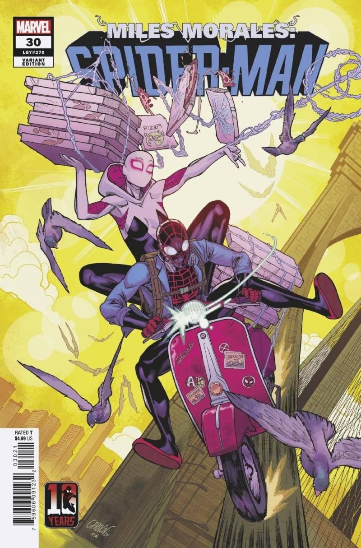 Miles Morales: Örümcek Adam 30. kapak