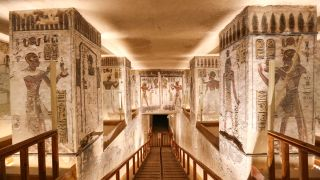 Valley of the Kings tomb.