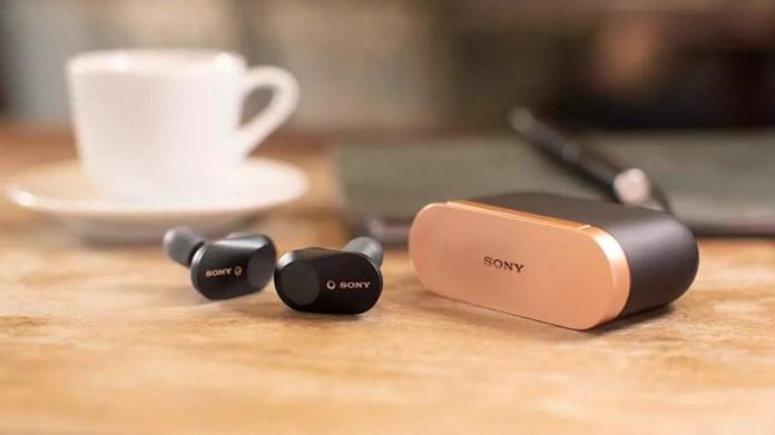 Best wireless earbuds: Sony WF-1000XM3