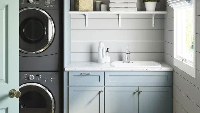 15 Small Laundry Room Ideas Stylish And Practical Laundry Room Inspiration Real Homes