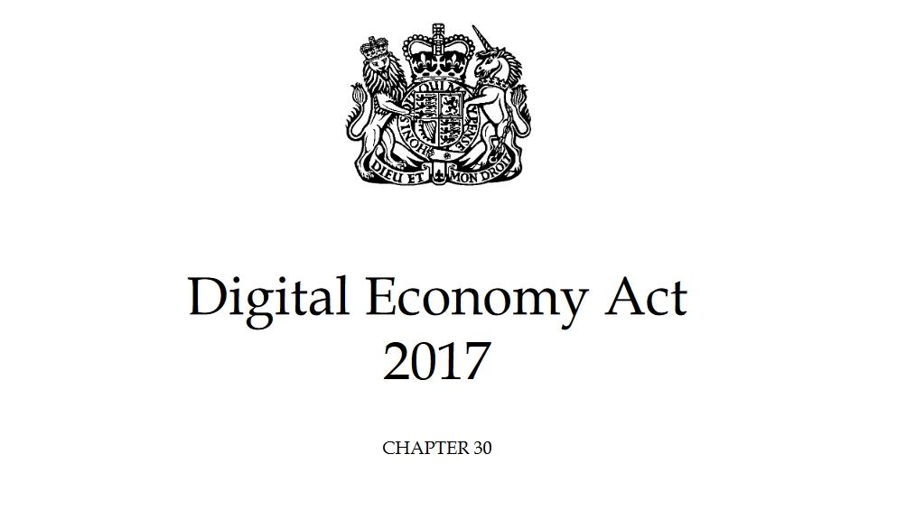 The Digital Economy Act 2017 provides the legislation for the UK porn block
