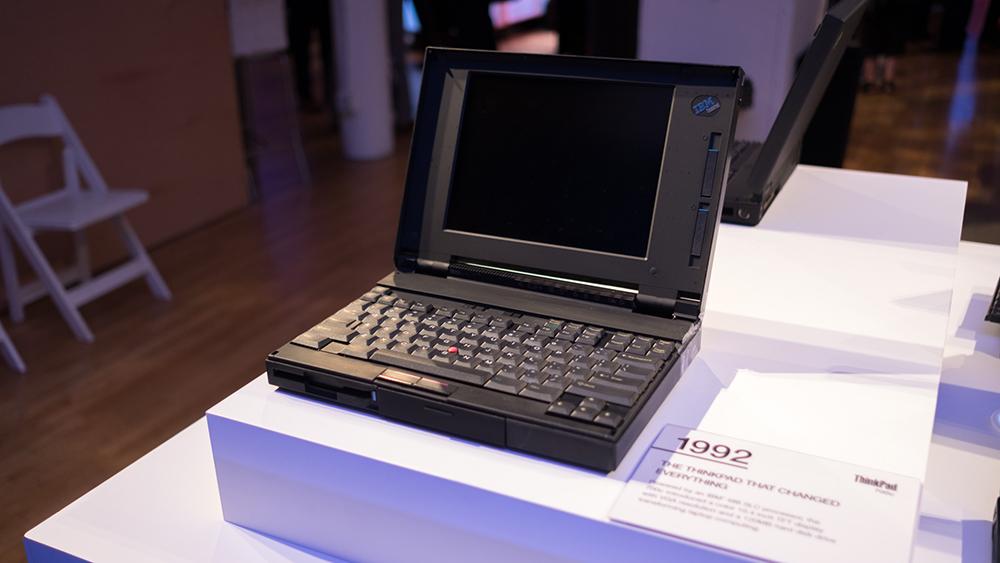 Photo of IBM ThinkPad 700