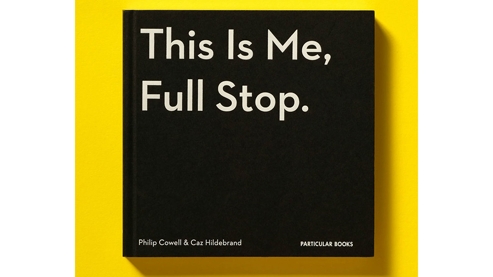 This Is Me, Full Stop book cover is black with sans serif title