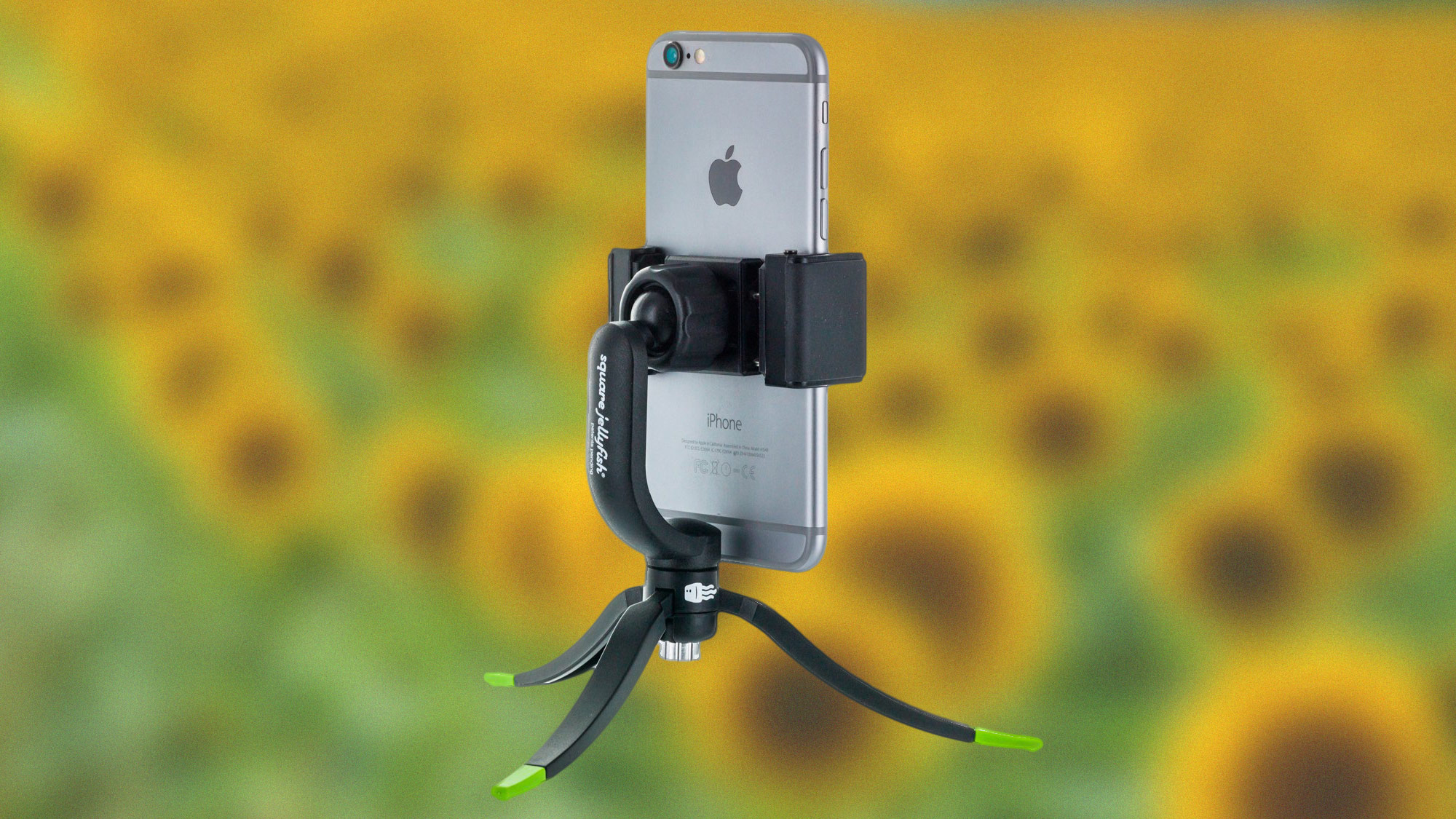 best iPhone tripods: Square Jellyfish Jelly Grip mount & Jelly Long Legs