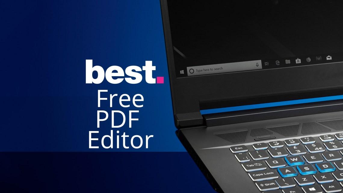 The best free PDF editor 2020   TechRadar