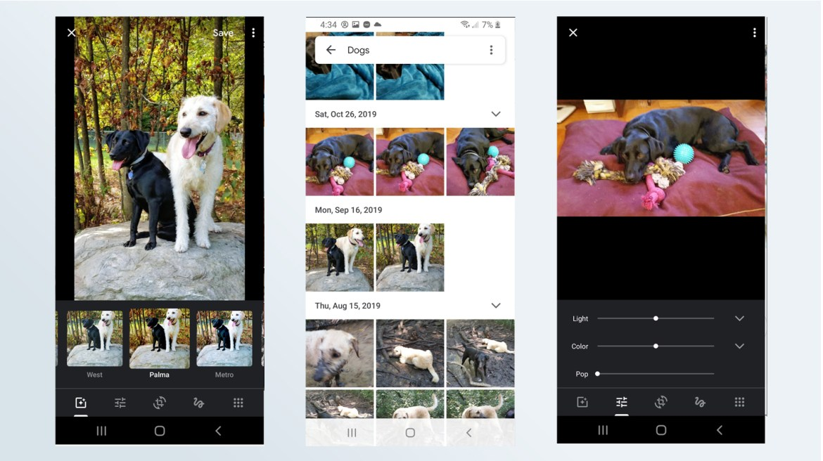 best photo editing apps: Google Photos