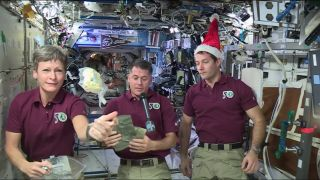Christmas in Orbit Astronauts Make Merry Aboard the Space