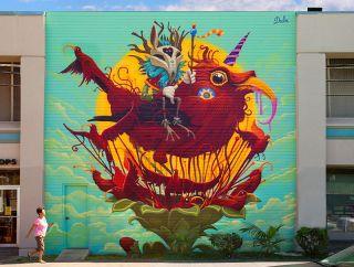 Street art: Dulk