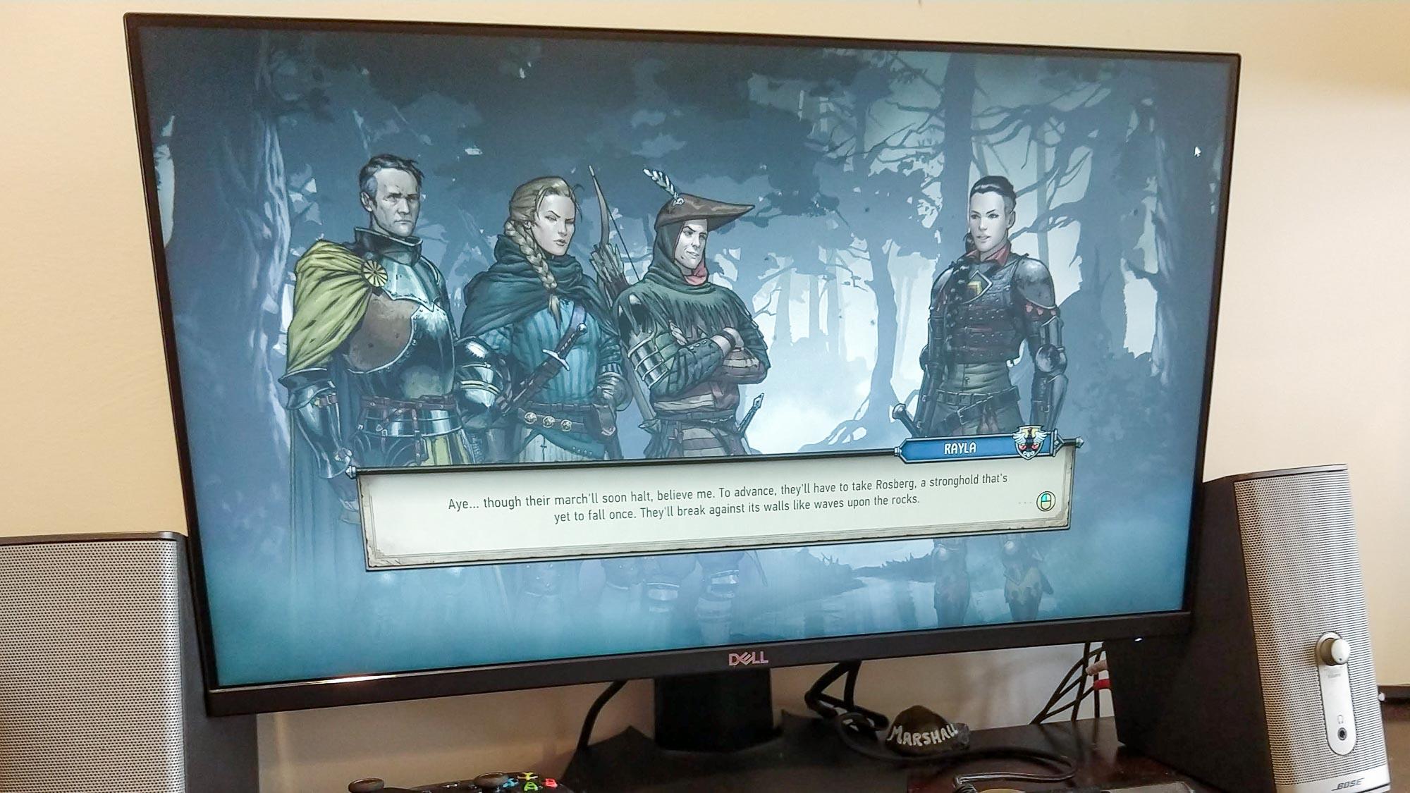 Best gaming monitors: Dell 24 Gaming Monitor S2421HGF