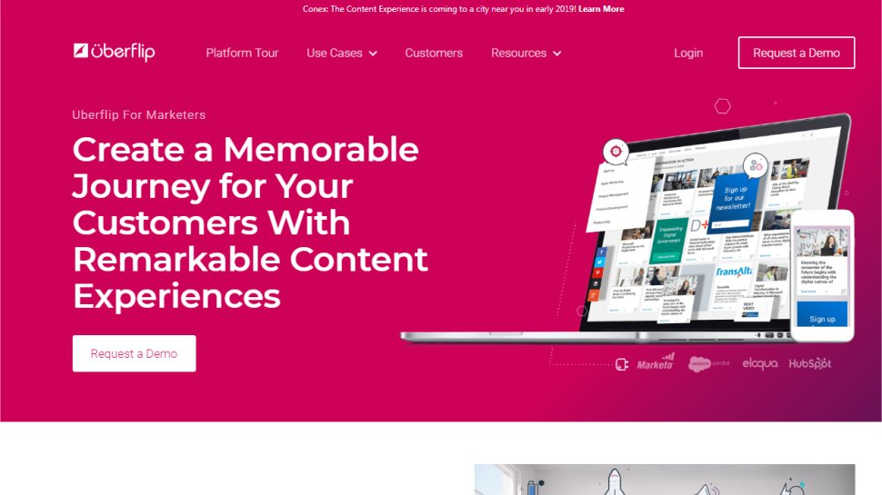 Uberflip - For a content strategy that covers the full customer cycle