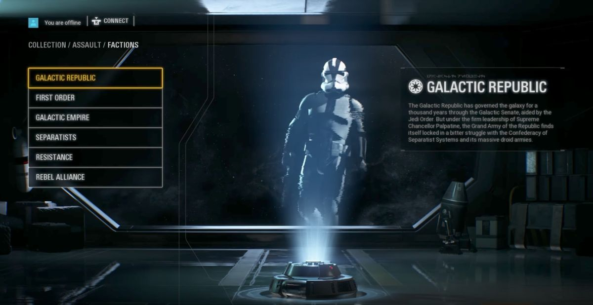 Star Wars Battlefront 2 Has Hidden Character Customization