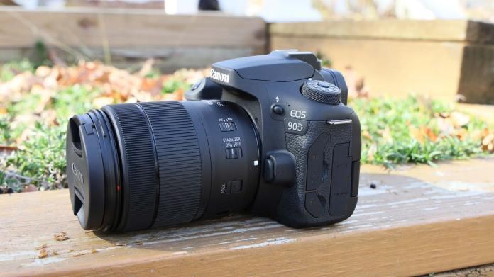 Best DSLR cameras: Canon EOS 90D