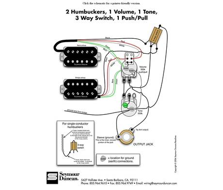 Bare Knuckle Wiring Diagram