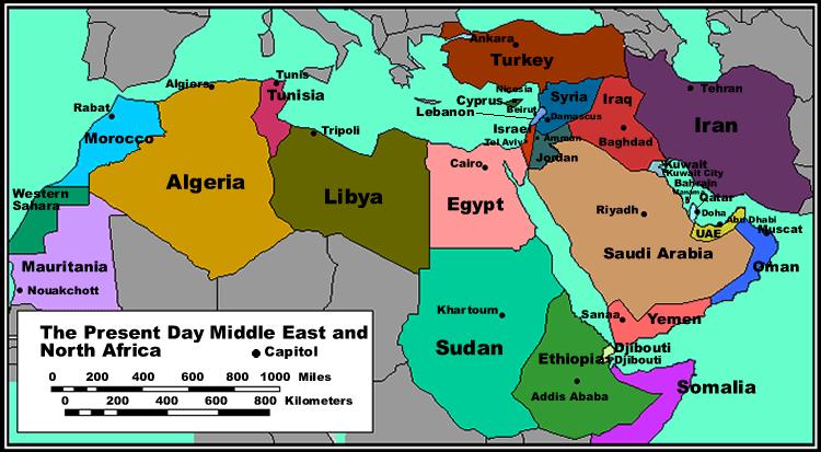ما هي أكبر الدول العربية مساحة موسوعة