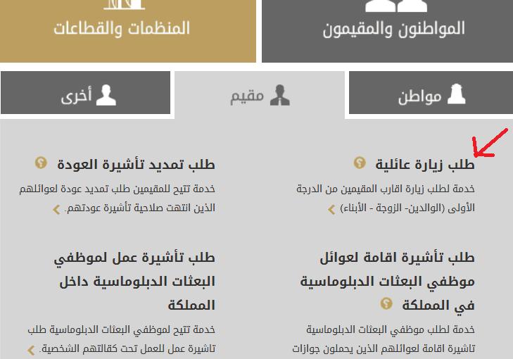 طلب زيارة السعودية الشروط الجديدة موسوعة
