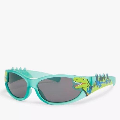 John Lewis & Partners Children's Dinosaur Sunglasses, Green