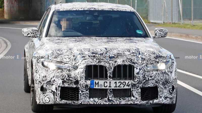BMW M3 Spy Photo