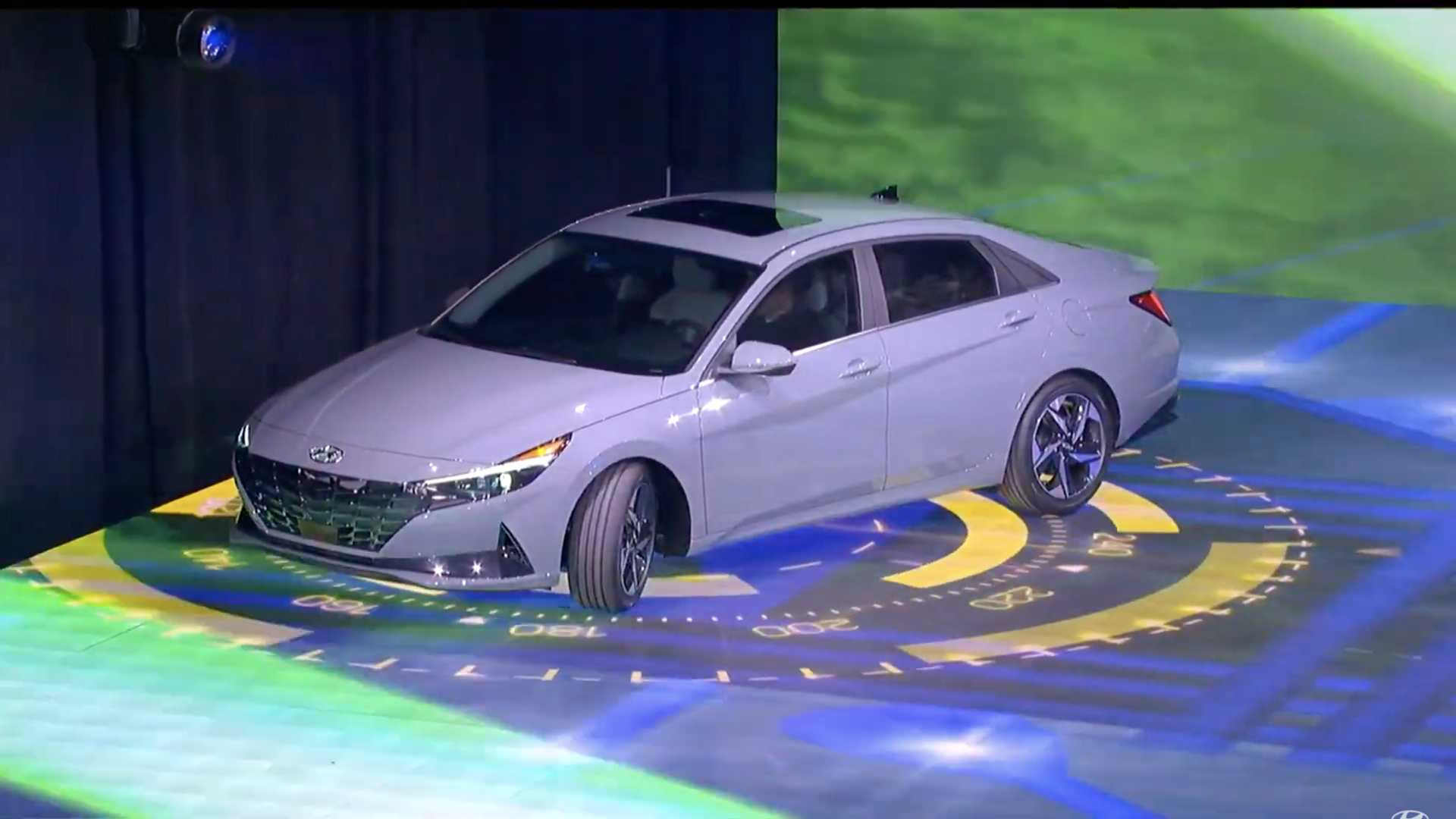 Available in a new avatar, the hybrid version gets only some exterior colors. 2021 Hyundai Elantra Hybrid Motor1 Com Photos