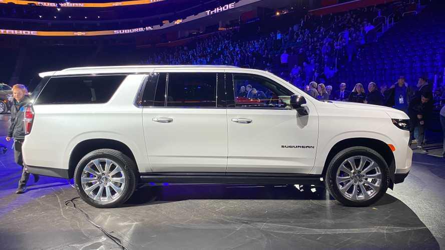 2021 Chevrolet Suburban Motor1 Com Photos