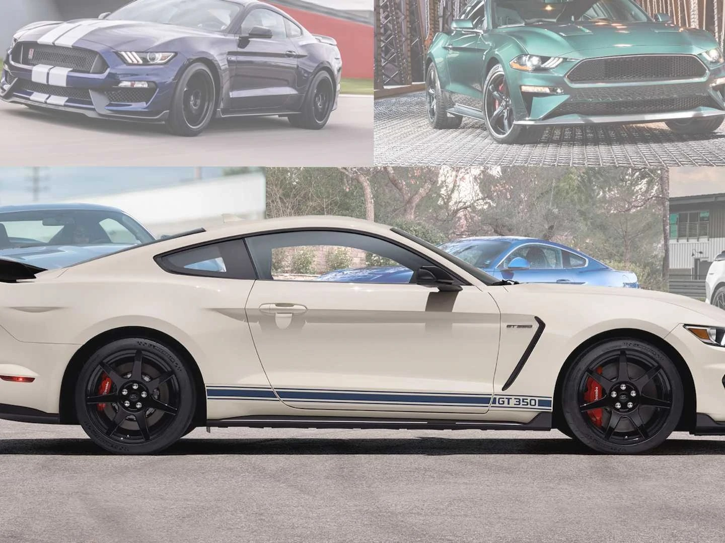 All the trims are powered by the same engine, hence. Ford Has 13 Different Mustang Models Can You Name Them All