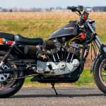 This 1984 Harley Davidson Xr1000 Is A Factory Built Street Tracker