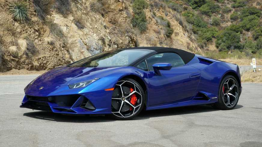 2020 Lamborghini Huracan Evo Spyder Review: Hooked On A ...