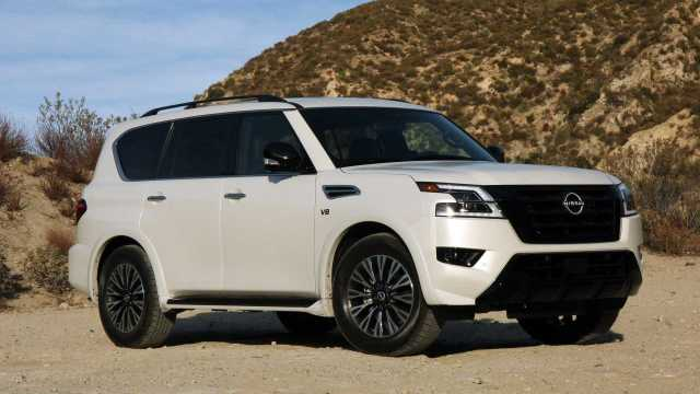 refreshed 2021 nissan armada starts at 48500 for a lot