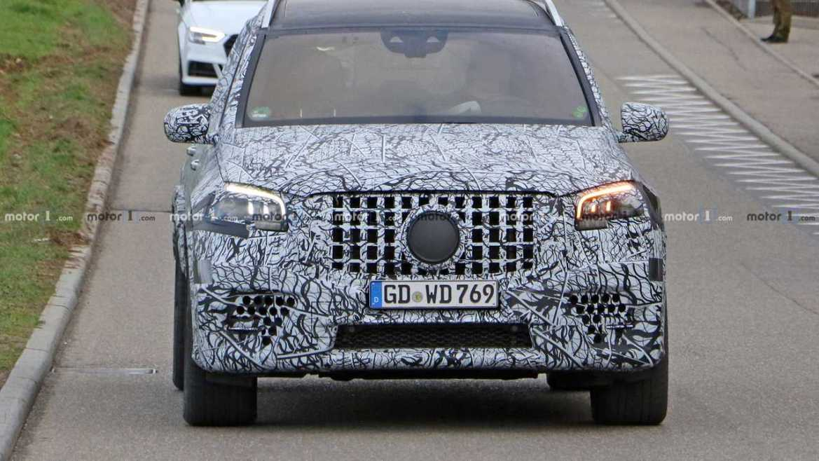 2021 Mercedes-AMG GLS 63 New Spy Photos Available >> 2021 Mercedes Amg Gls 63 Spied Looking Large And In Charge Lebfind