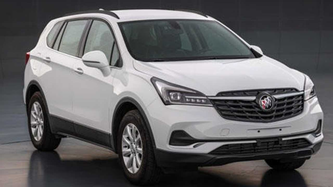2020 Buick Envision Facelift Prepared For China