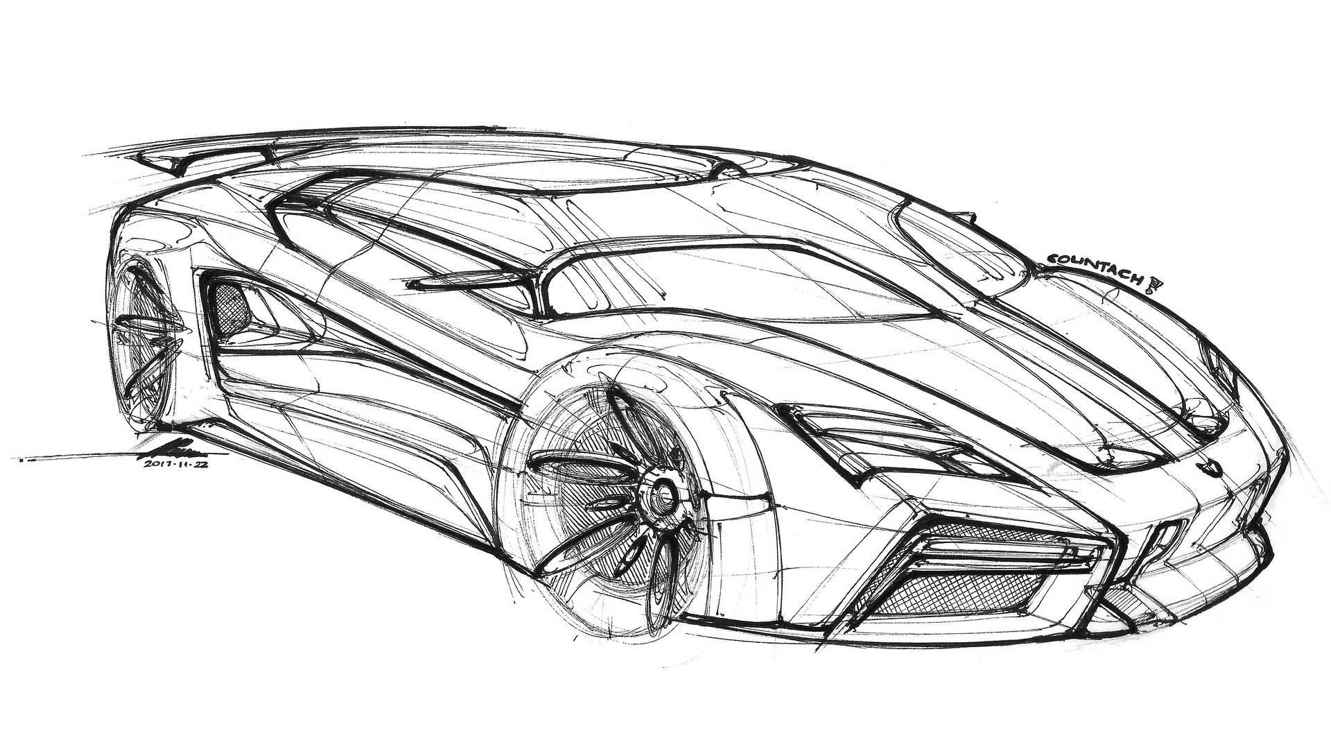 Lamborghini Countach Render Gives The Supercar A Virtual