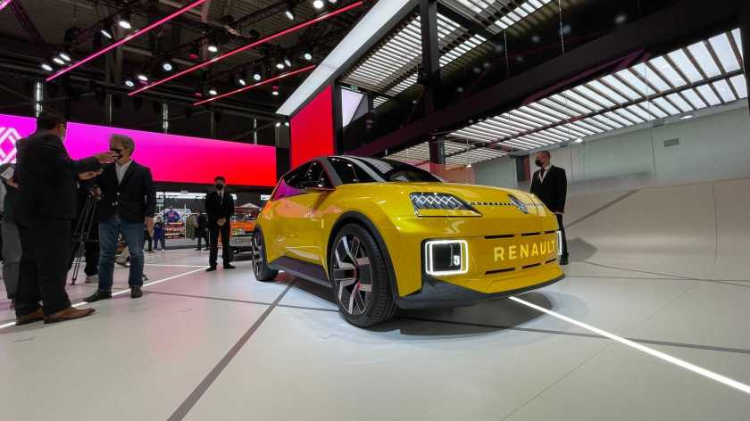 Renault R5 electric at the Munich Motor Show