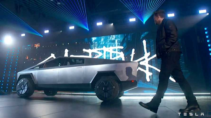 Tesla Cybertruck Reveal Motor1 Com Photos
