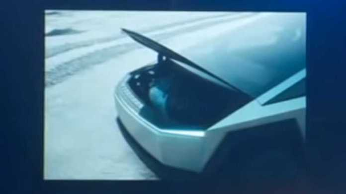 Have You Noticed That The Tesla Cybertruck Has Sail Pillar Storages?