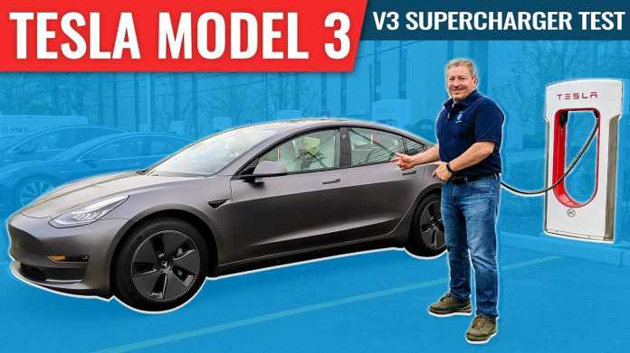How Fast Does A 2021 Tesla Model 3 Charge We Find Out