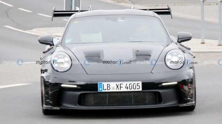 Porsche 911 GT3 RS 2023 - Sightings