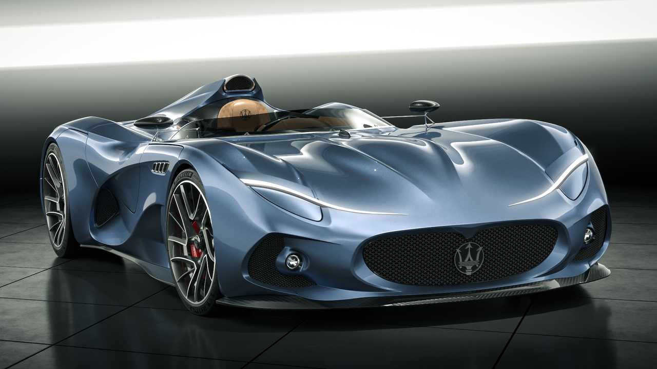 Maserati Millemiglia Concept Is A Retro Inspired Halo Car