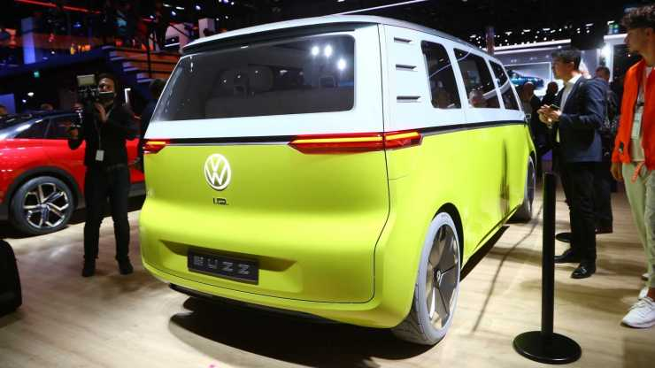 Volkswagen ID. Buzz - Salão de Frankfurt - 4