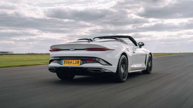2021 Bentley Bacalar rear quarter