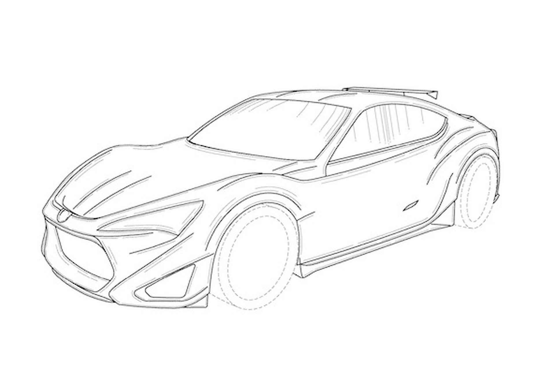 New Toyota 86 Subaru Brz Patents A Sign Of Things To Come