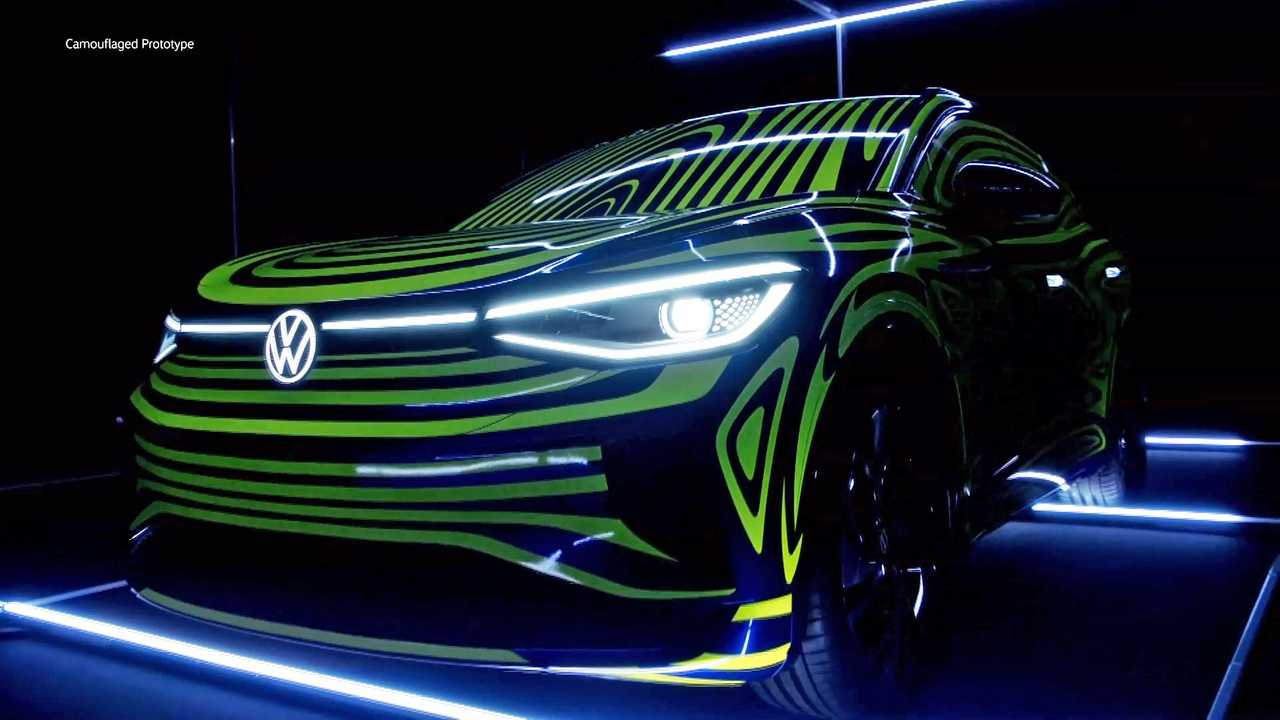 Vw Id 4 Is The Name For Ev Crossover Coming To U S In