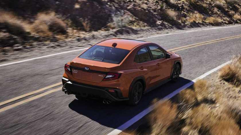 Subaru WRX (2022)