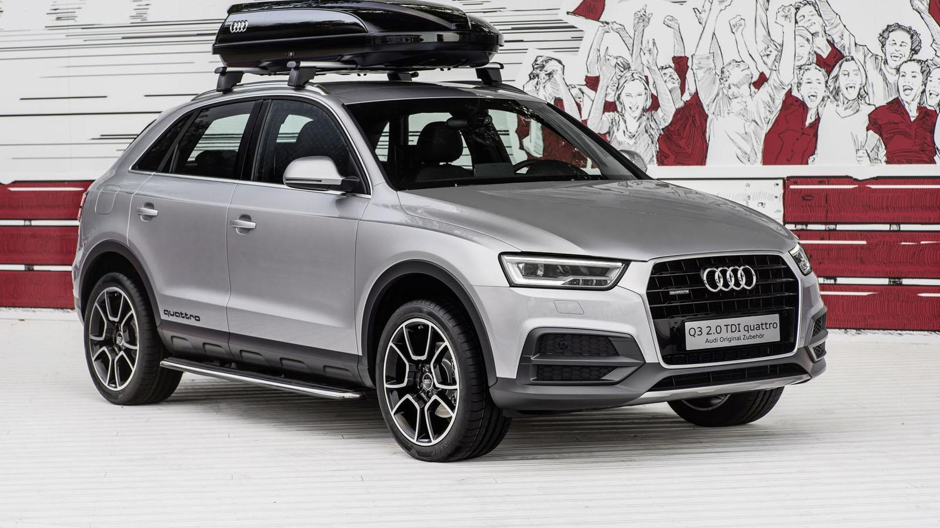 audi shows off their q3 offroad style