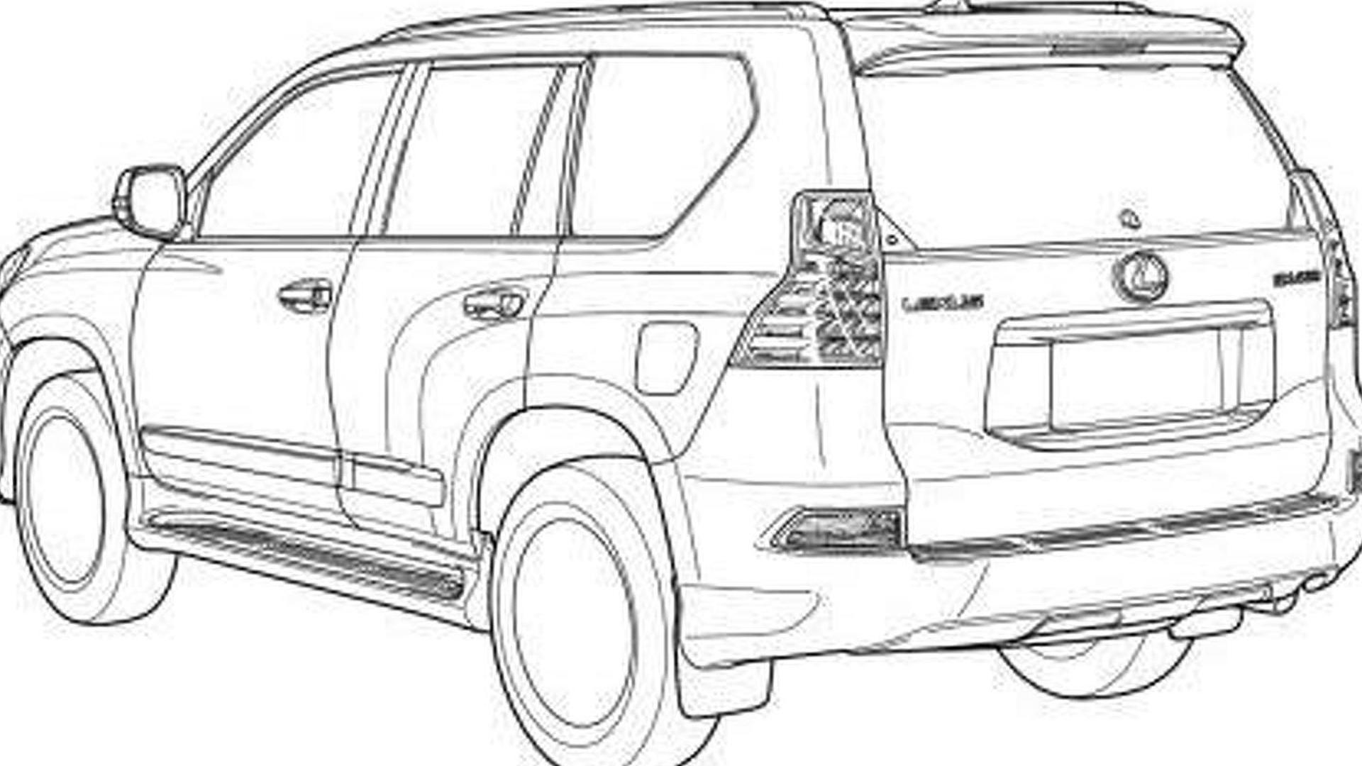 Lexus Gx Amp Toyota Land Cruiser Prado Leaked