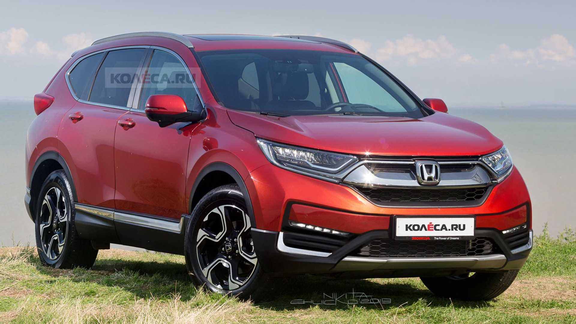 It's a motor scooter made for personal use. 2020 Honda Cr V Facelift Rendered Based On Spy Shots