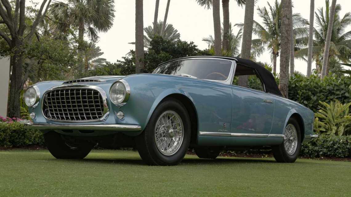 2021 Cavallino Classic — 1952 Ferrari 212 Inter Cabriolet