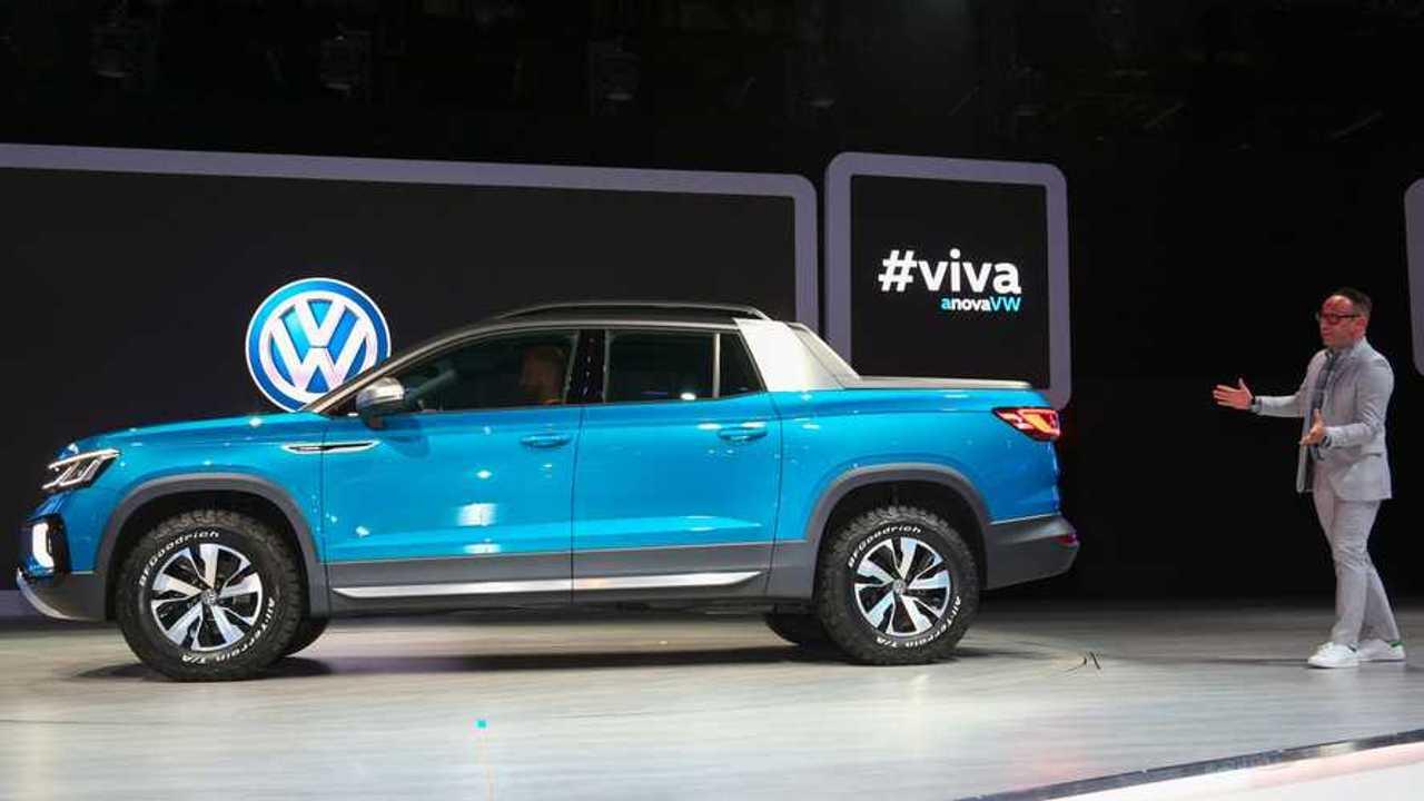 Volkswagen Tarok Concept Wants To Woo Truck Fans In New York